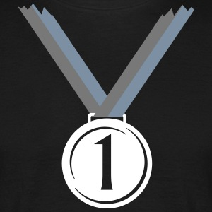 Gold medal for first place V  T-Shirts - Men's T-Shirt