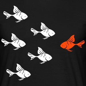 Against the Goldfish actual  Camisetas - Camiseta hombre