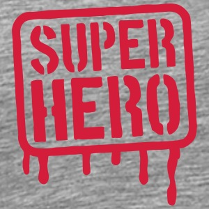 Super Hero Stamp T-Shirts - Men's Premium T-Shirt