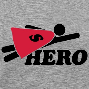 Super Hero Man T-shirts - Mannen Premium T-shirt