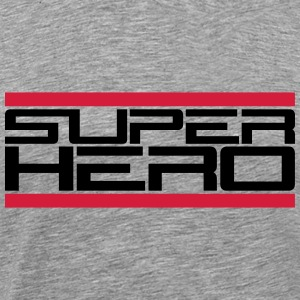 Super Hero Design T-shirts - Mannen Premium T-shirt