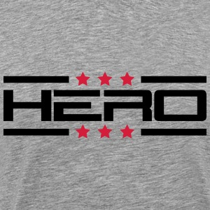 Hero Star Logo T-Shirts - Men's Premium T-Shirt