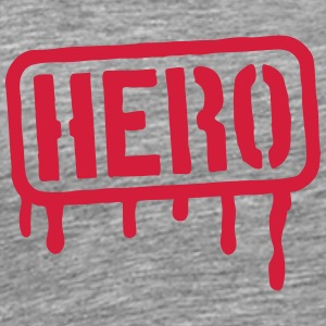 Hero Stamp T-Shirts - Men's Premium T-Shirt