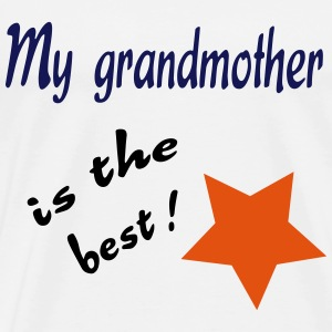My grandmother is the best ! T-Shirts - Men's Premium T-Shirt