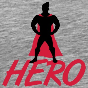 Hero T-shirts - Herre premium T-shirt