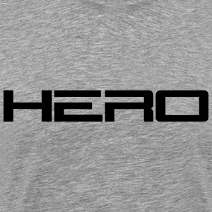 Hero Logo T-Shirts - Men's Premium T-Shirt