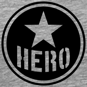 Hero Circle Logo T-Shirts - Men's Premium T-Shirt