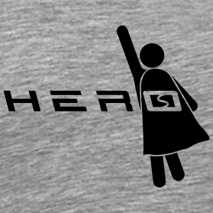 Cool Super Hero Logo T-shirts - Premium-T-shirt herr