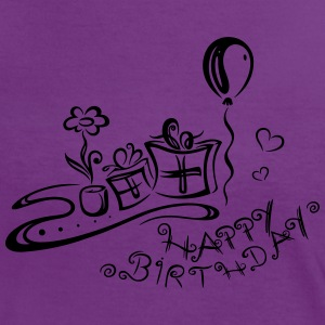 Geburtstag, happy birthday T-Shirts - Women's Ringer T-Shirt