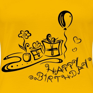 Geburtstag, happy birthday T-Shirts - Women's Premium T-Shirt