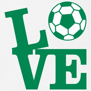 Soccer Love Shirts - Organic Short-sleeved Baby Bodysuit