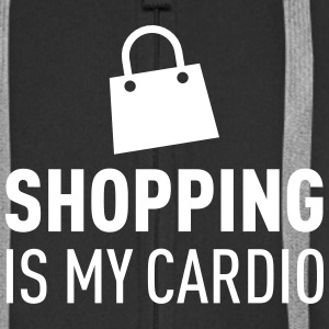 Shopping Is My Cardio Tröjor - Premium-Luvjacka herr