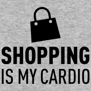 Shopping Is My Cardio Magliette - T-shirt ecologica da donna