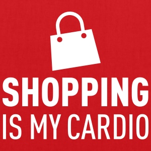 Shopping Is My Cardio Sacs et sacs à dos - Tote Bag