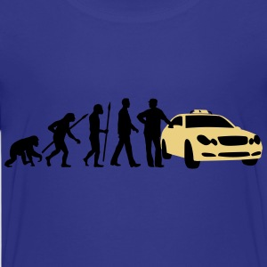 evolution_taxifahrer_122013_a_2c T-Shirts - Teenager Premium T-Shirt