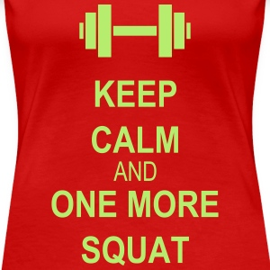 Keep calm and squat T-Shirts - Women's Premium T-Shirt