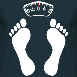 Feet on scales  T-Shirts - Men's T-Shirt