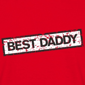 Best Daddy Stamp T-Shirts - Men's T-Shirt
