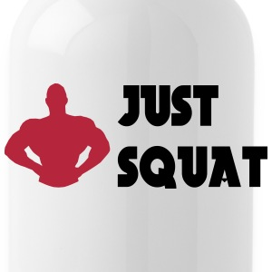 Just squat Flessen & bekers - Drinkfles
