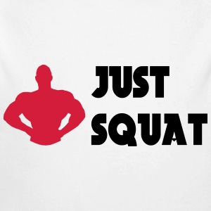 Just squat Pullover & Hoodies - Baby Bio-Langarm-Body