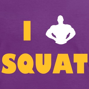 I love squat T-Shirts - Women's Ringer T-Shirt