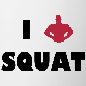 I love squat Flessen & bekers - Mok