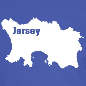 Jersey, Channel Islands T-Shirts - Männer Kontrast-T-Shirt