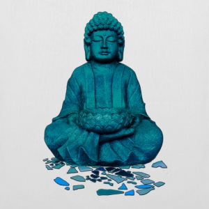 buddha blue Bags & backpacks - Tote Bag
