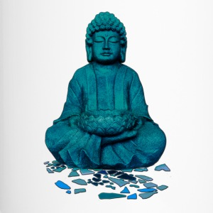 buddha blue Bottles & Mugs - Travel Mug