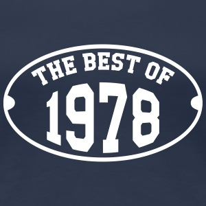 The Best of 1978 T-Shirts - Frauen Premium T-Shirt