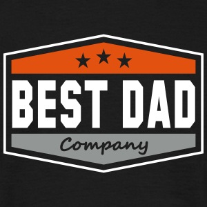 BEST DAD Company Fun Daddy T-Shirt OG - Camiseta hombre
