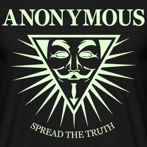 Anonymous NWO  Tee shirts - T-shirt Homme