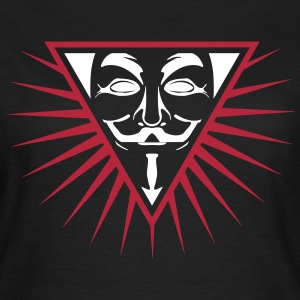 Anonymous NWO logo 3c T-Shirts - Frauen T-Shirt