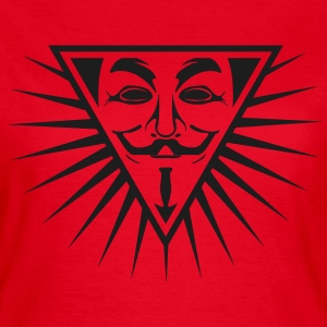 Anonymous NWO logo 1c T-Shirts - Frauen T-Shirt
