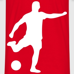 fußball soccer football schuss t-shirt WH - T-skjorte for menn