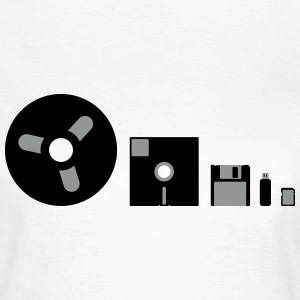 Storage Evolution T-Shirts - Frauen T-Shirt