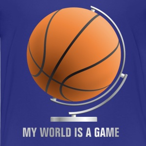 globe_world_sport_122013_basketball_c T-Shirts - Teenager Premium T-Shirt