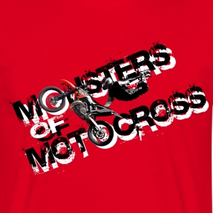 Monsters of Motocross T-Shirts - Männer T-Shirt