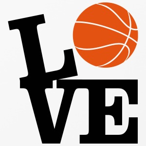 Love Basketball Hoesjes voor mobiele telefoons & tablets - iPhone 4/4s hard case