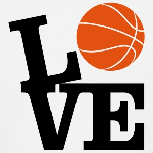 Love Basketball Shirts - Kids' Baseball T-Shirt