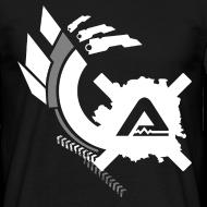 Design ~ White Logo Claws standard TS Man