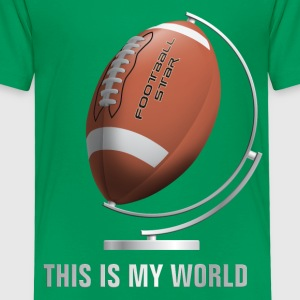 globe_world_sport_122013_football_b T-Shirts - Kinder Premium T-Shirt