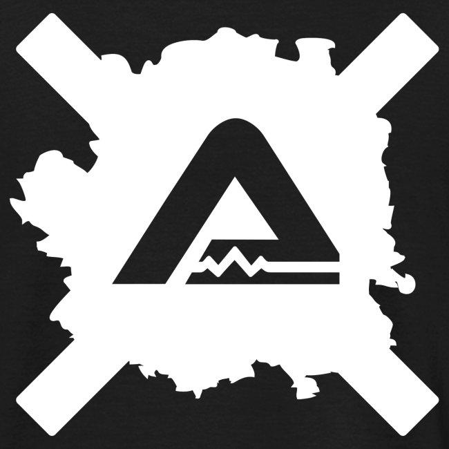 White A Logo standard TS Man