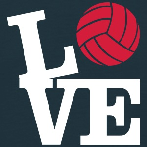 Love Volleyball T-shirts - Mannen T-shirt