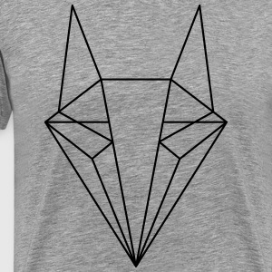 Diamond Fox - Männer Premium T-Shirt