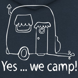 Yes we camp! - Frauen Premium Kapuzenjacke