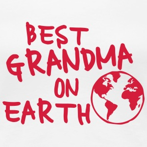 Best grandma on earth T-Shirts - Frauen Premium T-Shirt