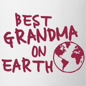 Best grandma on earth Flaschen & Tassen - Tasse