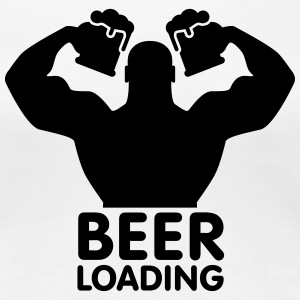 Beer loading Tee shirts - T-shirt Premium Femme