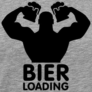 Bier loading Tee shirts - T-shirt Premium Homme